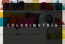 Colorimetría / En el diseño de interiores el color es una pieza clave no solo en aportarnos diversas sensaciones, como calidez, vitalidad, armonía o relajación.