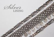SILVER / Vintage and Antique Sterling Silver Jewelry