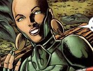 Moondragon | Heather Douglas / Heather Douglas aka Moondragon is a powerful telekinetic and telepath,as well as the daughter of Arthur Douglas (better known as Drax). She once possessed the Mind Gem, one of the Infinity Gems. Although she is a cold, shrewd loner at heart, she was almost always a member of a superhero team.  #Marvel