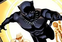 Black Panther | T'Challa / T'Challa aka Black Panther is former king of Wakanda, one of the most technologically advanced nations on Earth. He is among the top intellects of the world, a veteran Avenger, and a member of the Illuminati. Using his powers and abilities, he has pledged his fortune, powers, and life to the service of all mankind. #Marvel