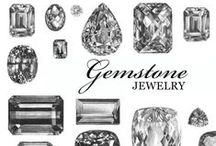 GEMSTONES / Antique and vintage gemstone jewelry available at Isadoras.com.