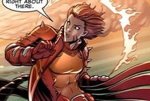 """Rachel Grey-Summers / Rachel Anne Grey-Summers aka Rachel Grey is the daughter of Cyclops and Jean Grey from the alternate """"Days of Future Past"""" timeline. She was forced to become a mutant """"hound"""" and track other mutants before escaping to the present. Rachel has immense telekinetic and telepathic powers, and currently teaches at the Jean Grey School. Rachel was also a host to the Phoenix Force, just like her alternate reality mother, the currently deceased Jean Grey-Summers. #Marvel"""