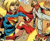 Power Girl & Supergirl / Kara Zor-L / Karen Starr aka Power Girl and SuperGirl || As a Kryptonian of the Earth-Two universe, Power Girl has all of the powers of the Pre-Crisis Earth-Two Superman. She possesses great superhuman strength, speed, flight and invulnerability. She also has super senses, heat vision, X-ray vision, and freezing breath. ★ Supergirl, Superman's cousin and last survivor of Krypton's Argo City. Currently, she is protecting Earth in Superman's stead at his request. #DC comics