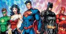 Justice League | Batman Family... / Justice League | Teen Titans | Young Justice | Justice Society | Batman Family | Green/Red Lantern Corps...
