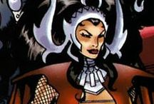 """Karnilla / Karnilla possesses the conventional attributes of an Asgardian woman (""""goddess"""") as well as mastery of the mystical arts of Asgard. Like all Asgardians she is extremely long-lived (though not immortal like the Olympians), superhumanly strong, immune to all diseases, and resistant to conventional injury. Her Asgardian metabolism gives her far greater immunity than human endurance at all physical activities 