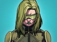 Abigail Brand / Abigail Brand is the director of S.W.O.R.D. (the Sentient World Observation & Response Department), an offshoot of S.H.I.E.L.D. that deals with extraterrestrial threats. She is a woman of mixed heritage, being half alien and half mutant, and is a frequent ally of both the Avengers and the X-Men.  #Marvel