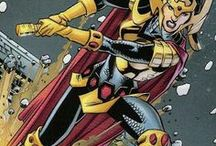 Big Barda | Barda Free / She is a warrior of the New Gods, and was raised on Apokolips as a servant of Darkseid. Originally she had been a member of the Female Furies, a deadly squadron of female killers, and trained underneath Granny Goodness. She has also been a member of the Justice League and Birds of Prey. #DC Comics