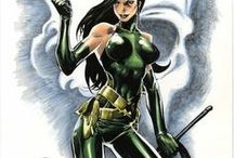 Madame Hydra / Viper | Ophelia Sarkissian / Madame Hydra, formerly known as Viper, is the terrorist leader of HYDRA and an enemy of Captain America, Nick Fury and Wolverine among many others. While she is not the ruler of Madripoor, she did - or does - own it.