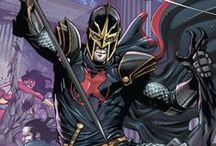 Black Knight | Dane Garrett Whitman / A Physicist and master swordsman, Dane Whitman is the latest in a long line of heroes and villains known as the Black Knight. As the modern, heroic Black Knight; Dane has been an Avenger, a Hero for Hire, a member of Excalibur and the Champion of Avalon. #Marvel