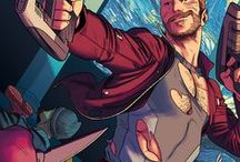 Star-Lord | Peter Quill / Peter Quill was the first and also current Star-Lord, a human-alien-cyborg hybrid and member of the Guardians of the Galaxy. He is the son of J'son of Spartax who is the leader of the Spartoi Empire. #Marvel