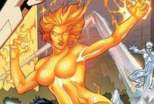 Magma | Amara Juliana Olivians Aquilla / Magma can transform into molten rock & has control over the Earth. She was one of the New Mutants, but left to join the Hellions. She has since been a teacher at the Xavier Institute and rejoined her teammates from the New Mutants. #Marvel