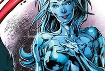 Platinum / Platinum is a living robot created by Dr. William Magnus. She is designed to mimic the properties of the metal platinum and is the most human person #DC comics