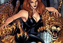 Cheetah | Barbara Ann Minerva / Cheetah was a regular woman who got turned into a goddess by a cursed dagger. #DC comics