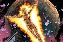 Nova | Frankie Raye / Frankie Raye aka Nova / (Human Torch) was a young girl accidentally given the powers of the android Human Torch, which inspired her to volunteer to be a herald of Galactus. #Marvel