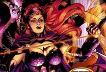 Circe / Circe is a legendary sorceress from Greek mythology who acts as a super-villain and enemy to Wonder Woman. Immortal and undying, she is a centuries-old enchantress with goddess-level powers. Her place in history is famous for Homer's Odyssey.#DC Comics