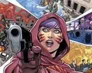 Pandora / Pandora is the mysterious figure who appeared at the end of Flashpoint when then the DC, Vertigo, and Wildstorm universes merged into one. She later appeared throughout the DC Universe, seemingly observing all the characters. #Dc comics