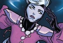 Oracle | Sybil / Oracle is a long serving member of the Imperial Guard of the Shi'ar Throne. She has been both a friend and foe to the various heroes of Earth. #Marvel