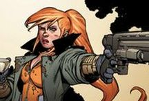 Elsa Bloodstone / The daughter of the immortal monster-hunter Ulysses Bloodstone. Following in her father's footsteps, Elsa is an expert monster-hunter. #Marvel