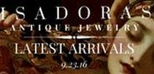 Isadoras Latest Arrivals / Enjoy a first-look at some of the stunning pieces we have recently added to our heirloom collection!