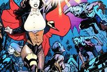 Zatanna | Zatanna Zatara / The daughter of John Zatara, Zatanna is a powerful magician who casts spells by speaking backwards and works as both a stage performer and a member of the Justice League of America (presently Justice League Dark). #DC Comics