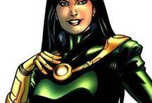 Monica Rappaccini / Monica Rappaccini was the Supreme Scientist of A.I.M. Her daughter, Carmilla Black, is the Scorpion.# Marvel