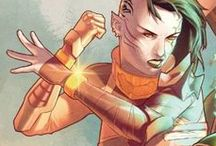 Stella Nega / A kree warrior and leader of the Guardians 1000. #Marvel