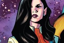 Aurora | Jeanne-Marie Beaubier / Aurora, the twin sister of Northstar, was a founding member of Alpha Flight. She also suffers from dissociative identity disorder, which often causes her to be caught in precarious situations. #Marvel