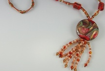 Handmade Glass Beads and more / Micro Macrame, handmade glass beads, pressed metal, etc. www.classyartglass.artfire.com  / by Classy Art Glass