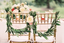 Groom & Bride Chairs / by wedding decor