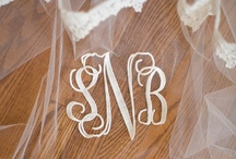 Monogram&initial / by wedding decor