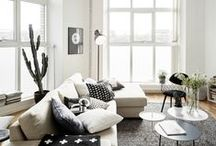 Interior inspiration / I love vintage and scandinavian interior, giving a home a rustic yet modern feeling.