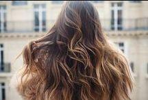Hair / Ombre -  Long locks - LOB - Sunkissed - Beach hair - Curls - Waves