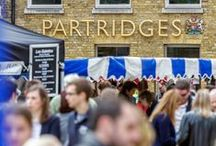 Partridges Food Market / Partridges Food Market is made up of over 65 speciality food producers creating the flavours of London. It is located outside the flagship Partridges store on the Duke of York Square (SW3 4LY) from 10am until 4pm every Saturday.