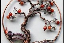 wire,bead trees