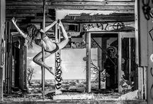 Fitness and pole dancing