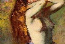 Edgar Degas / Lust-look.Instant immortality. ドガ。刹那を永遠と化するまなざし。