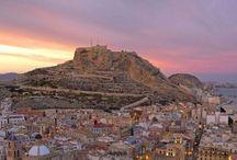 Alicante - Spagna / Gli scorci, i colori e le meraviglie della meravigliosa ciudad de la luz, Alicante - Spagna.