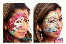 Face painting: Eroine