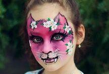 Face painting: Felini