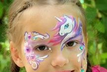 Face painting: Cavalli & co.