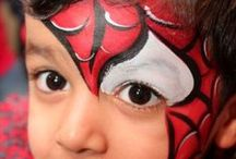 Face painting: Eroi