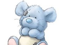 Blue Nose/Forever Friends/Teddy/Carebears