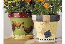 1)Flower Pot