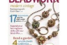 Favorite Magazines / Get great ideas for new beaded jewelry designs / by Classy Art Glass
