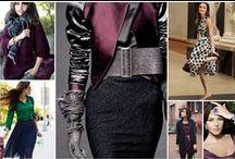 4 évszak _Tél, Sötét Tél - Winter, Dark Winter, Deep Winter, DYT type 4 / öltözékek, fashion, outfit