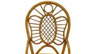 Butterfly / Collection of furniture from a natural rattan. Weaving is executed in the form of a butterfly