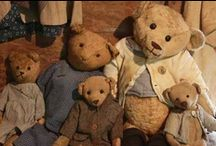 besotted with bears / Teddy Bears and their relatives. / by rUth j-MAc