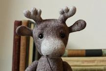 felt so good / something so comforting about felting. / by rUth j-MAc