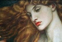 Artists;  Pre-Raphaelites / Early English painters / by Ilona Terry
