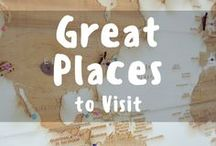 Great Places to Visit! / A complete list of all the greatest places to visit around the world! Where should your next travel destination take you? Pinning and repinning all the great places everybody should visit! To join the group please check out www.facebook.com/followingjesse/. Please only pin vertical images. Pins that are unrelated or spam will be removed from the board :)